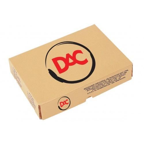 Plastico Para Pasta Medio 4 Furos Dac | 600 Plasticos - DAC - P600