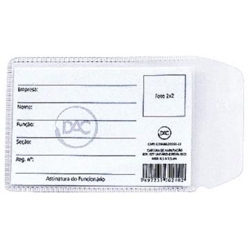 Protetor Plastico Habilitacao 70 X 105 Mm Dac | 100 Unidades