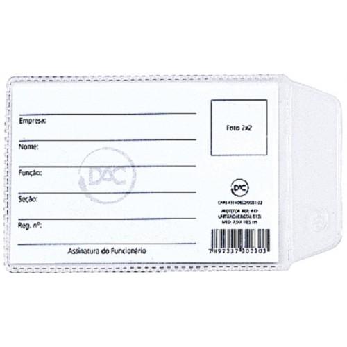 Protetor Plasticos Habilitacao 95 X 65 Mm Dac | 100 Unidades - DAC - 95x65