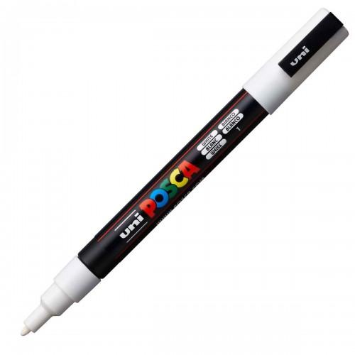 Caneta Posca PC-3M 8 Cores Soft Pastel Uni Ball