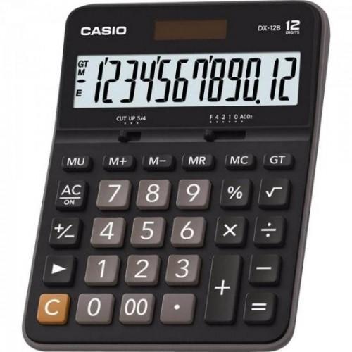 Calculadora de Mesa 12 Dígitos DX-12B Preta CASIO - Casio - DX-12B