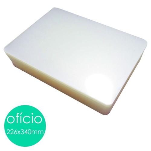 Plastico Para Platificação Polaseal Oficio 226x340 0.07 | 100 Unidades - Mares - Mares - Oficio