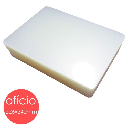 Plastico Para Platificação Polaseal Oficio 226x340 0.10 | 100 Unidades - Mares - Mares - Oficio