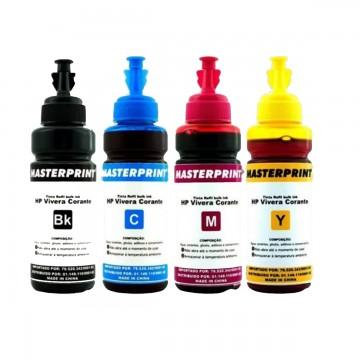 Refil de Tinta Bulk Ink Para HP 100Ml Masterprint