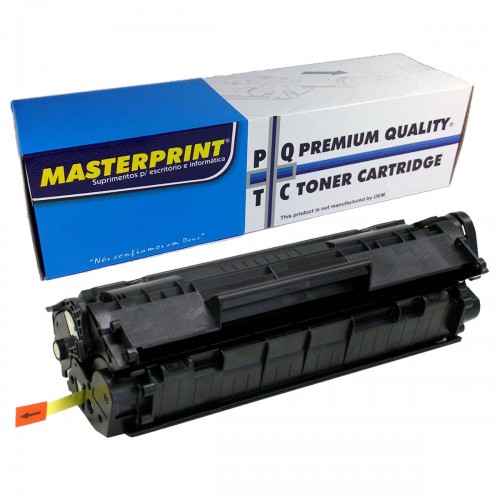 Toner MasterPrint CE285A Compativel HP 85A 35A 36A 78A P1102W - MasterPrint - 285A 35A 36A 75A