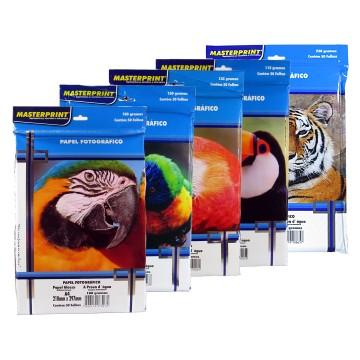 Papel Fotográfico Glossy A4 Masterprint 50 Folhas