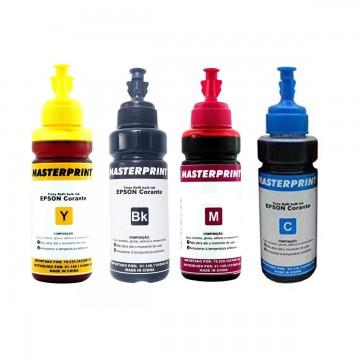Refil de Tinta Bulk Ink Para Epson 100Ml Eco Maste...