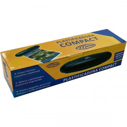 Plastificadora Compacta A4 Menno