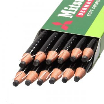 Lápis Dermatográfico Mitsu-Bishi 7600 12 Unidades