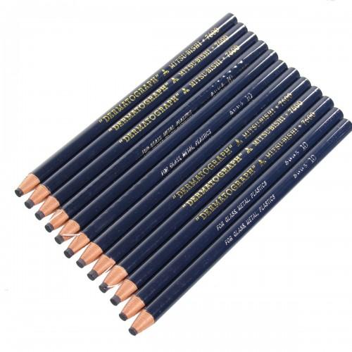 Lápis Dermatográfico Mitsu-Bishi 7600 12 Unidades - Mitsu-Bishi - 7600