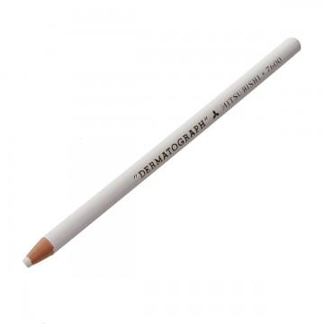 Lápis Dermatográfico Mitsu-Bishi 7600 Branco 01 Un...