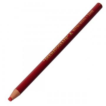 Lápis Dermatográfico Mitsu-Bishi 7600 Vermelho 01 ...