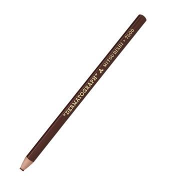 Lápis Dermatográfico Mitsu-Bishi 7600 Marrom 01 Un...