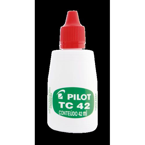 Tinta Para Carimbo Pilot Tc42 Pilot | 12 Unidades - PILOT - TC42