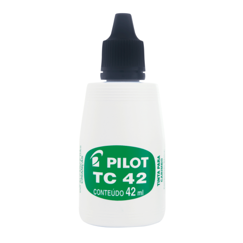 Tinta Para Carimbo Pilot Tc42 Preta Pilot | 12 Unidades - PILOT - TC42