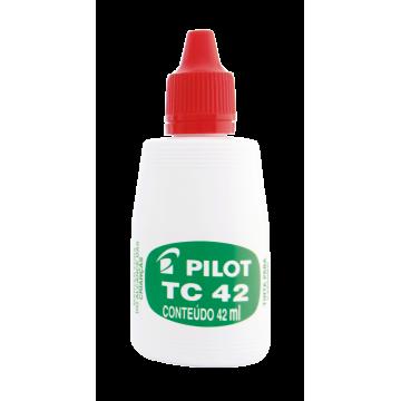 Tinta Para Carimbo Pilot Tc42 Vermelha Pilot | 12 Unidades