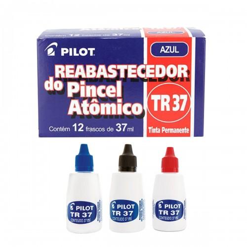 Tinta Para Pincel Atomico Tr37 Pilot   12 Unidades - PILOT - TR37