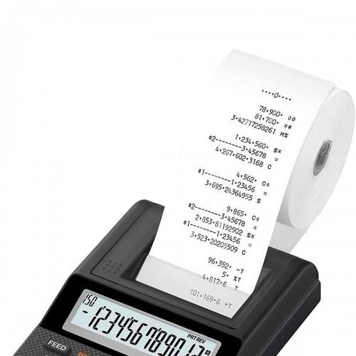 Bobina Calculadora 57 mm x 30 m Branca 1 via 30 Unidades