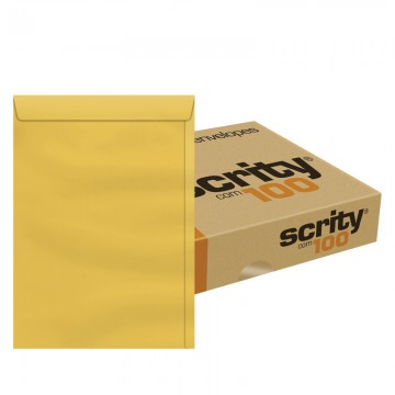 Envelope 200 X 280 Saco Kraft Ouro SKO328 Scrity 1...