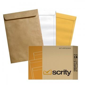 Envelope A4 22 X 32 cm Saco Scrity 250 Unidades