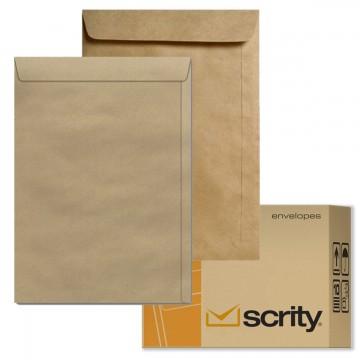 Envelope A4 22 X 32 Saco Kraft 229 x 324 Pardo SKN332 Scrity 250 Unidades