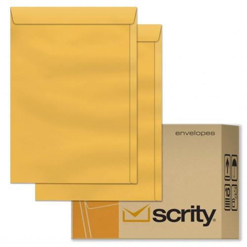 Envelope A4 22 X 32 Saco Kraft Ouro SKO332 250 Unidades Scrity - Scrity - SKO332