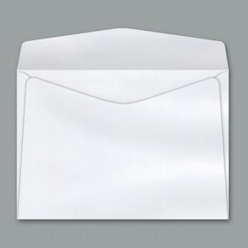 Envelope Carta Branco Sem CEP 11,4 X 16,2 Cm Cof010 1000 Unidades Scrity