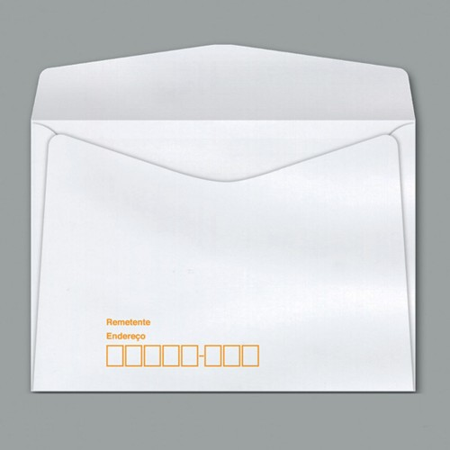Envelope Carta COF012 Branco CEP Rpc 114X162 Scrity 1000 Unidades - Scrity - COF012
