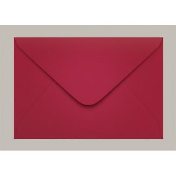 Envelope Carta 114x162 Pequim Vermelho Escuro Scrity 100 Unidades