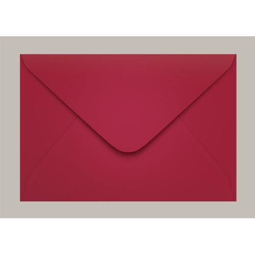 Envelope Convite 160x235 Pequim Vermelho Escuro Scrity 100 Unidades - Scrity - 160x235 Pequim