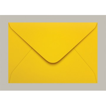 Envelope Carta 114x162 Rio De Janeiro Amarelo Scrity 100 Unidades