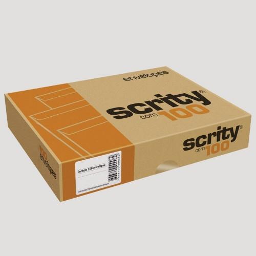 Envelope Meio A4 162 X 229 saco Kraft Pardo SKN323 Scrity 250 Unidades - Scrity - SKN023