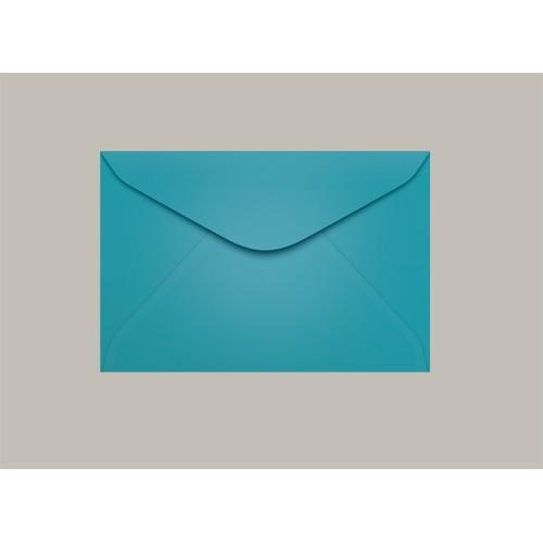 Envelope Visita 072x108 Bahamas Azul Claro Scrity 100 Unidades - Scrity - 072x108 Bahamas