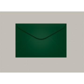 Envelope Visita 072x108 Brasil Verde Escuro Scrity 100 Unidades