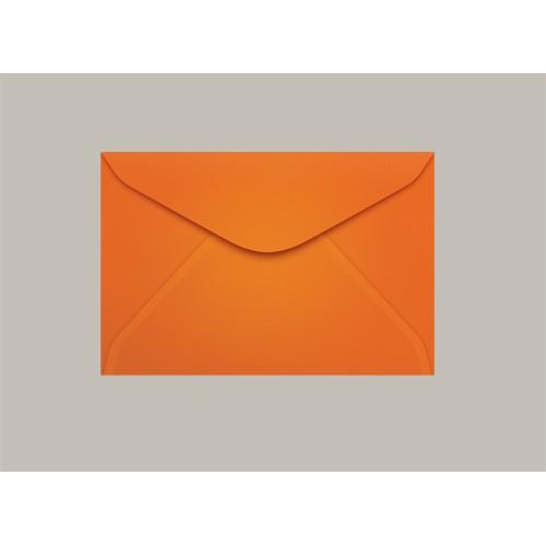 Envelope Visita 072x108 Cartagena Laranja Scrity 100 Unidades - Scrity - 072x108 Cartagena