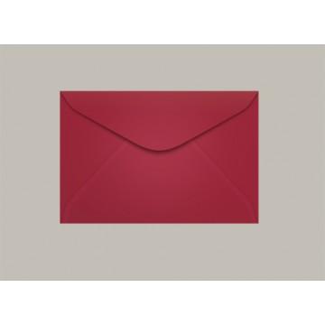 Envelope Visita 072x108 Pequim Vermelho Escuro Scrity 100 Unidades