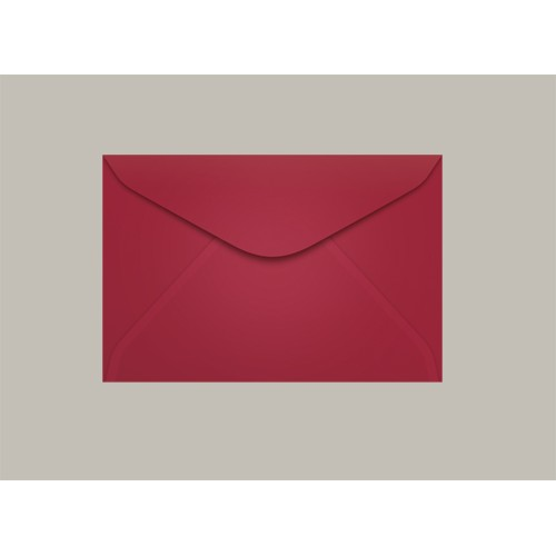 Envelope Visita 072x108 Pequim Vermelho Escuro Scrity 100 Unidades - Scrity - 072x108 Pequim