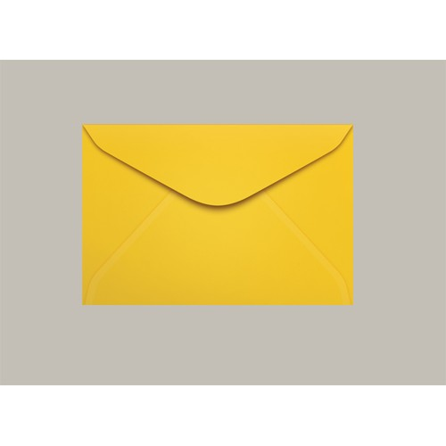 Envelope Visita 072x108 Rio De Janeiro Amarelo Scrity 100 Unidades - Scrity - 072x108 Rio de Janeiro