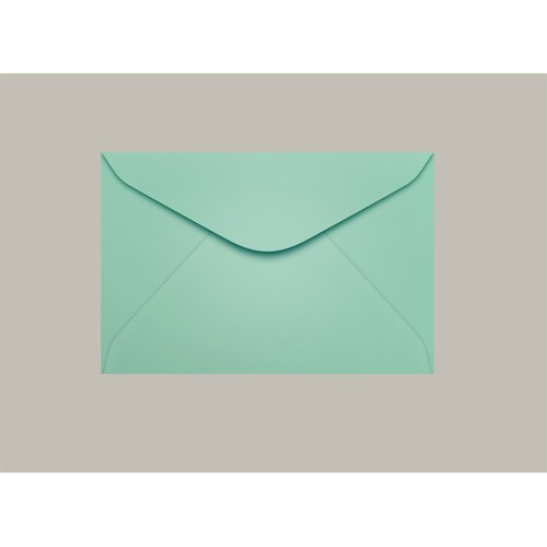 Envelope Visita 072x108 Tahiti Verde Claro Scrity 100 Unidades - Scrity - 072x108 Tahiti