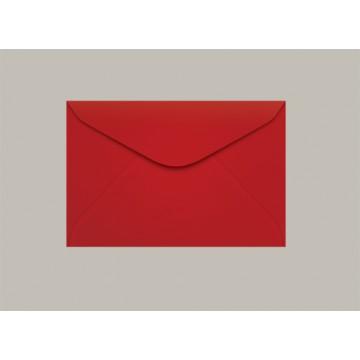 Envelope Visita 072x108 Tóquio Vermelho Scrity 100 Unidades