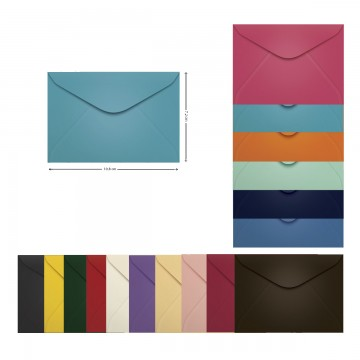 Envelope Visita 072x108 mm Scrity 100 Unidades