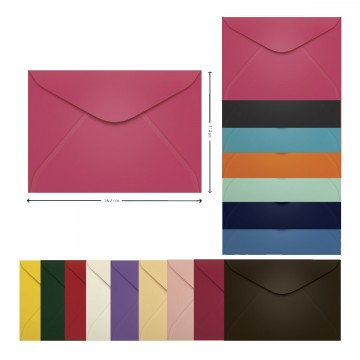 Envelope Carta 114x162 mm Scrity 100 Unidades
