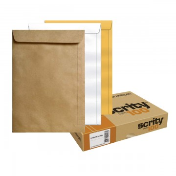 Envelope Saco 310X410 mm Scrity 100 Unidades