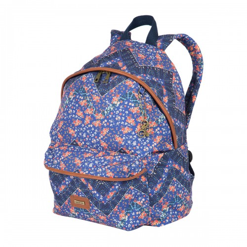 Mochila De Costas Feminina Grande M Plus Mini Floral Sestini - Sestini - M Plus Mini Floral 075512-04