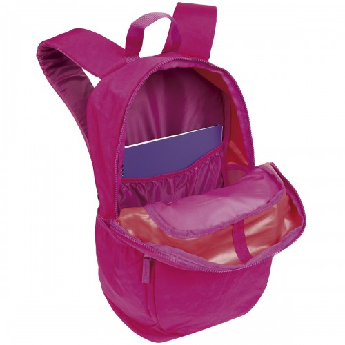 Kit Mochila De Costas Feminina Magic Rosa e Estojo Sestini - Sestini - Kit Crinkle Rosa 075487-08