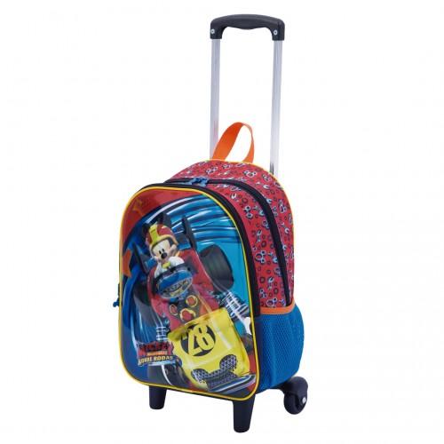 Kit Mochila Infantil Mickey 19X Lancheira Estojo Sestini - Sestini - 19X 065326-00