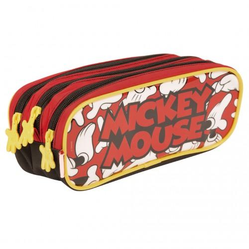 Kit Mochila Infantil Mickey 19Y Estojo Sestini - Sestini - Mickey 19Y